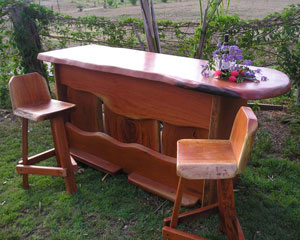Hardwood Bar