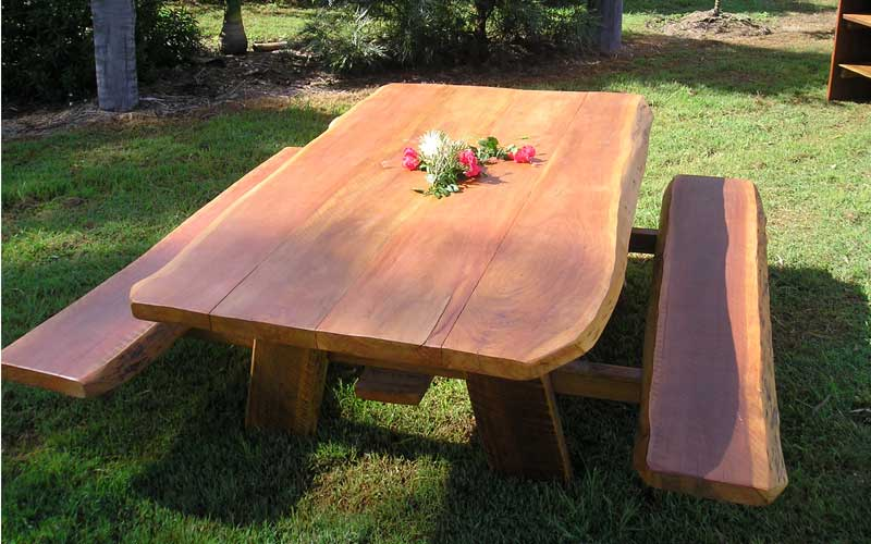Hardwood Picnic Table