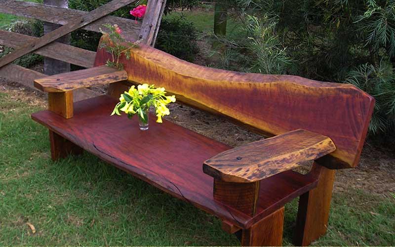 Hardwood Bench Seat