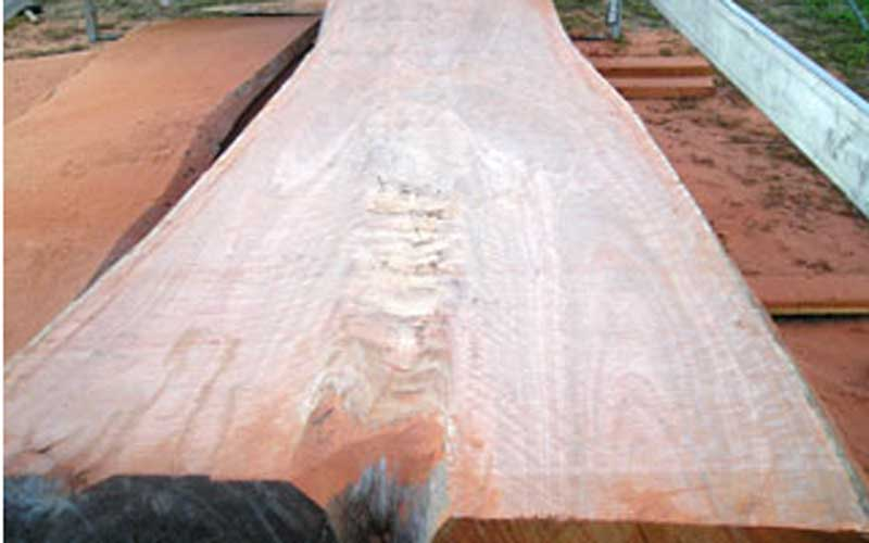 Slabs of Australian Hardwood